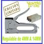 Engrampadora Manual Ideal Tapicería Metalica Profesional