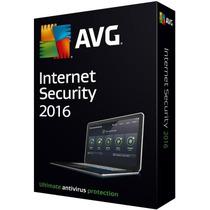 Avg Internet Security 2016 Licencia Original Para 3pc 3años