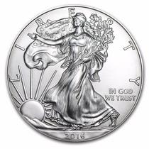 Moneda Estados Unidos 1 Onza Plata Año 2016 Sin Circular