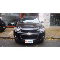 Chevrolet Captiva 4x4 2.4 Lt 167cv Línea 12 Autos 2014 Negro