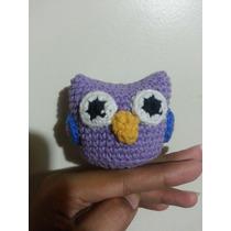 Buhos De Colores Tejidos Al Crochet Amigurumi