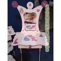 Tocador Infantil Campanita Princesas Kitty Barbi