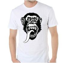 Remera Diseños Exclusivos! Estampada Sublimada Gas Monkey