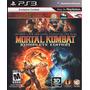 Mortal Kombat Komplete Ps3 Nuevo Fisico Sellado Original
