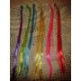 Apliques De Colores Para El Pelo Nenas Souvenirs Spa (60u)