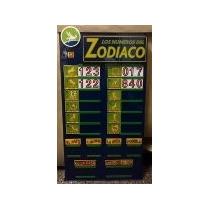 Cartel Zodiaco Mediano -quiniela- Congreso-emporio Agenciero