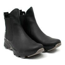 Zapatillas Botitas Cuero Botas Mujer - Qez