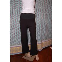 Maria Cher Pantalon Oxford Negro Modelo Clerk