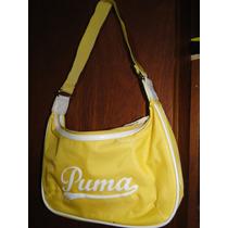 Cartera Deportiva Puma Importada Color Amarillo