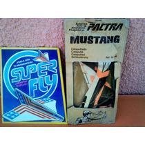 Lote X 2 Aviones Para Armar Super Fly Y Pactra Mustang