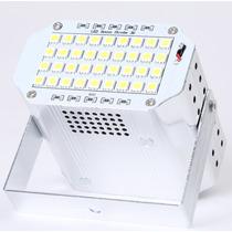 Flash Led Dj Estroboscopico Grande De 36 Leds Con Regulador!