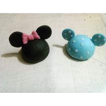 Cabezas De Mickey Y Minnie