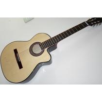 Guitarra Con Corte Criolla Clasica Muy Comoda Afina Ok