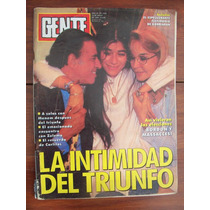Gente 1556 18/3/95 Menem J O Bordon Massaccesi K Costner