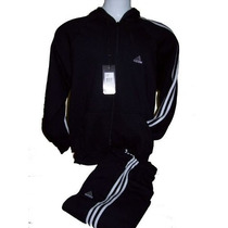 Conjunto Adidas Campera Mas Pantalon, 100 % Algodon