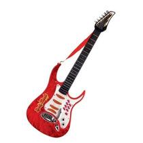 Guitarra Con Microfono Rock & Music Band Para Niños