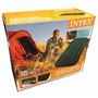 Colchon Intex 1plaza Inflador Incorporado Camping Subte B