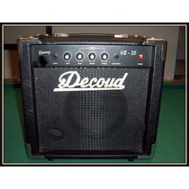 Excelente! Amplificador De Bajo Decoud De 20 Watts Reales