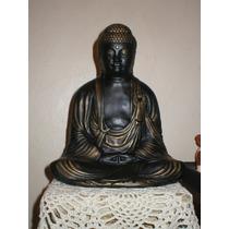 Buda Yeso Pintado A Mano Feng Shui Reiki El Cristal Encantad
