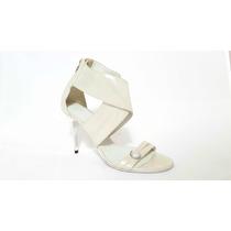 Zapatos Plateados Saverio Di Ricci - Alonso!! Excelentes