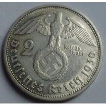 Tercer Reich - Alemania Nazi - 2 Reichsmark 1.936 G