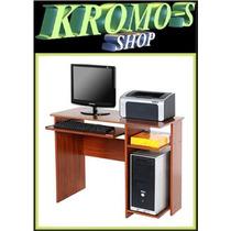 Mesa Escritorio Pc Platinum® Mod. 9012 Super Precio Kromo-s