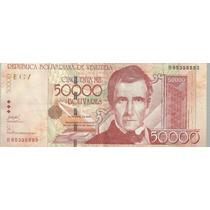 Billete 50000 Bolivares 2006 P 87 Xf