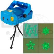 Mini Láser Audiorítmico Verde Y Rojo, 150mw 4 Efectos Yx-07