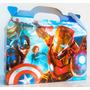 Cajita Bolsita Avengers Souvenirs Pack X50