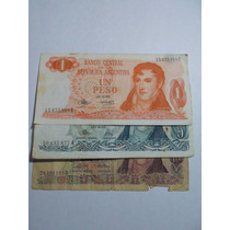 Billetes Serie A Banco Central De La Republica Argentina