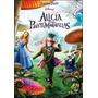 Dvd Alicia En El Pais De Las Maravillas Tim Burton Nuevo Sm