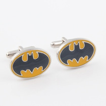 Gemelos Batman Estados Unidos Geek Cuff Links Retro Bat Man
