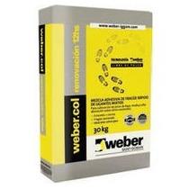 Pegamento Renovacion Piso Sobre Piso Weber X 30 Kl