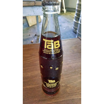 Botella Antigua De Gaseosa Tab Llena (sin Destapar)