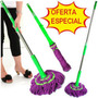 Trapeador Magic Mop Twist Sweep Lampazo Algodon Unica Oferta