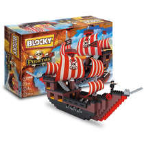 Blocky Barco Pirata (560 Piezas) +5 Años - Tienda Oficial
