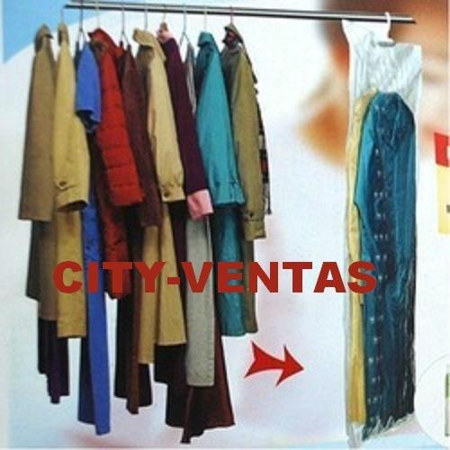 Bolsa al vacio para colgar ropa percha somos especialistas for Bolsas para guardar ropa