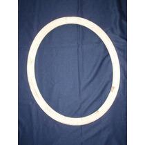 Marco Oval Antiguo Para Restaurar - De 78 X 66 - Para Espejo