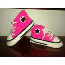 Botitas Pantuflas Crochet Para Adultos! Hasta Talle 43!!!