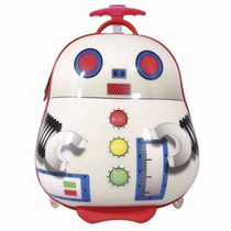Mochila Valija De Viaje Robot - Mundo Team
