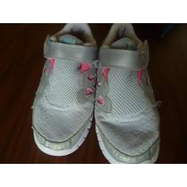 Zapatillas Nena Nike Con Abrojo N 33