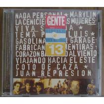 Cd Homenaje Al Rock Nacional N° 13 - Colección Revista Gente