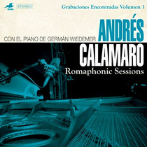Cd Andres Calamaro & German Wiedemer Romaphonic Sessions