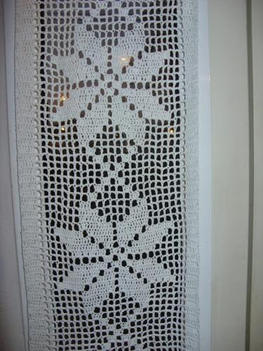 Cortina O Visillo Tejida Al Crochet (Otros) a ARS 250 en PrecioLandia ...