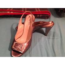 Zapatos Color Peltre Talle 38