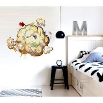 Vinilo Decorativo Adhesivo Boom. Med Plancha 60x70