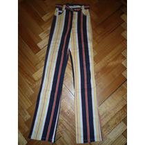 Pantalon Elastizado Tipo Calza Tabatha Ultima Moda!!!