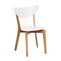 Silla nordica escandinava sala de estar y comedor en for Silla nordica madera