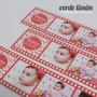 20 Souvenirs Rollo Foto Iman Personalizados Cumple Bautismo