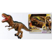 Juguete Para Niños Dinosaurio T-rex Con Luz Y Sonido
